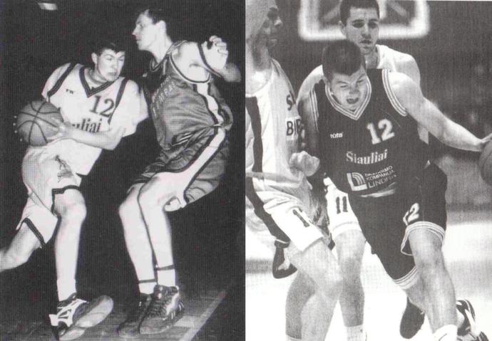 """BC Šiauliai. Donatas Slanina """"Šiaulių"""" komandoje pradėjo savo karjerą."""