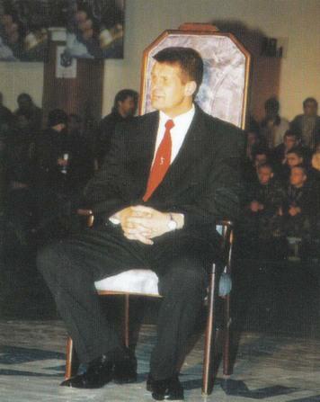 BC Šiauliai. 2003-2004 m. Vyr.trenerio A.Sireikos pagerbimas.