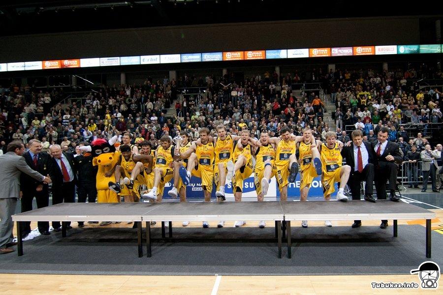 BC Šiauliai. 2008-2009 m. LKL bronza.
