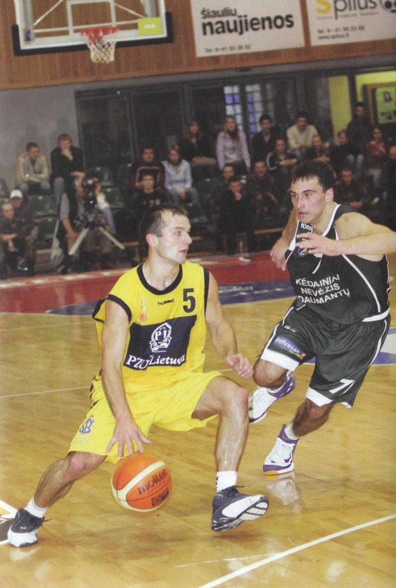 """BC Šiauliai. 2005-2007 m. A.Mažutis - vienas žemiausių žaidėjų """"Šiaulių"""" istorijoje."""