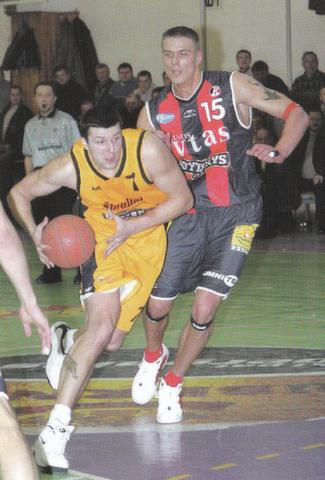 """BC Šiauliai. Buvęs """"Šiaulių"""" žaidėjas R.Javtokas daugiau yra rungtyniavęs prieš """"Šiaulius"""", nei už juos."""