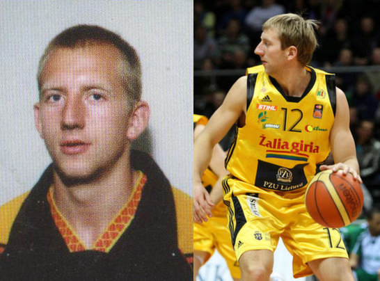 """BC Šiauliai. V.Pauliukėnas - pirmasis (1999-2000 m.) ir vienas paskutinių (2009-2010 m.) sezonų už """"Šiaulių"""" komandą."""