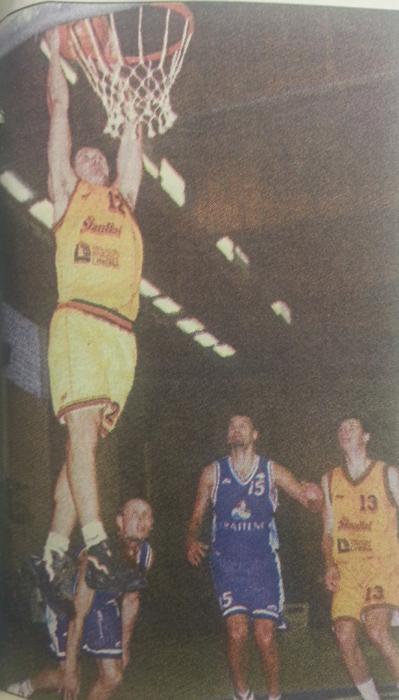 BC Šiauliai. 1998-1999 m. D.Slaninos dėjimas į Marijampolės komandos krepšį