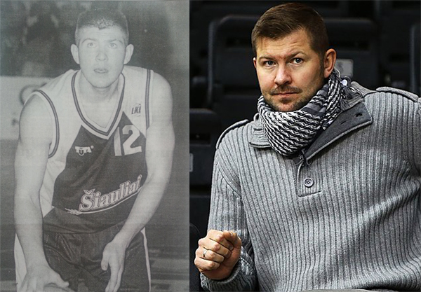 BC Šiauliai. Donatas Slanina 1998 m. ir 2014 m.