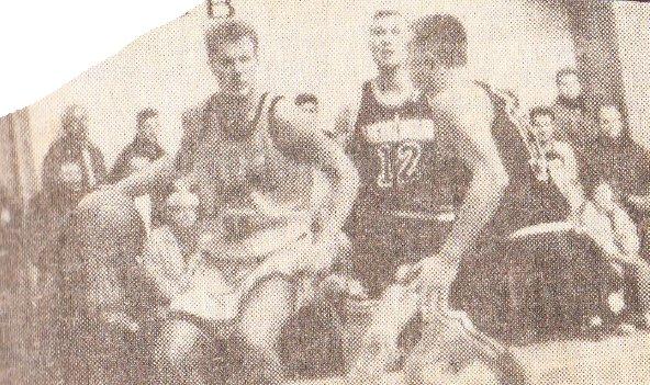 """BC Šiauliai. 1994-1995 m. pirmosios istorijoje """"Šiaulių"""" varžybos (draugiškos) prieš LKL sezoną (A.Tamkevičius)."""