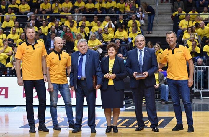 BC Šiauliai. 2019-2020 m. 25-ių metų jubiliejaus proga pagerbti klubui nusipelnę asmenys